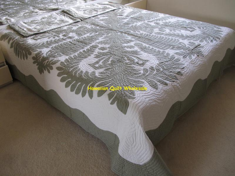 *Crown and Kahili-CG* <br>2 pillow shams included<br><font color=red>Super Fine Materials</font>