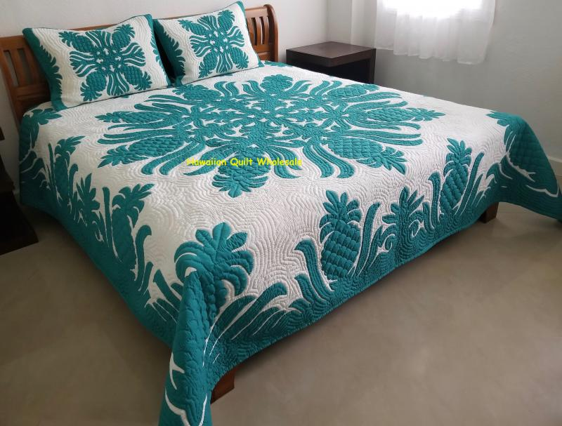 Pineapple-AG<br>2 pillow shams included<br><font color=red>Super Fine Materials</font>