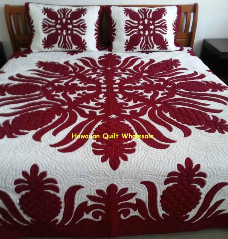 Pineapple-MA*<br>2 pillow shams included<br><font color=red>Superior Materials</font>