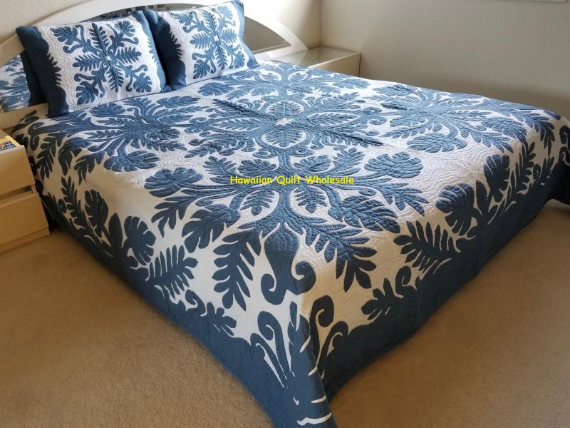 Fern-CB<br>2 pillow shams included<br><font color=red>Superior Materials</font>