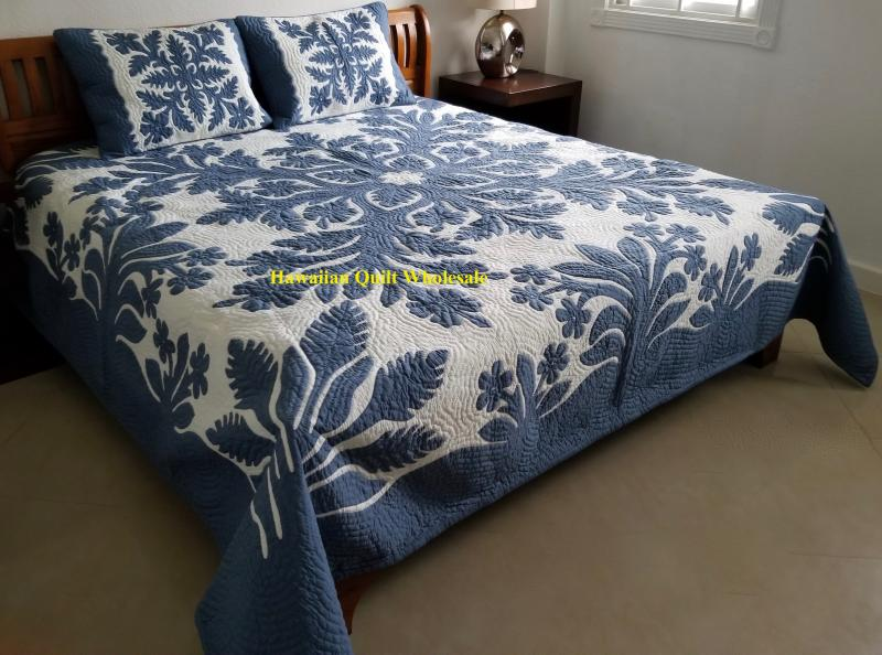 *Hibiscus-Torch Ginger-Plumeria-CB<br>2 pillow shams included<br> <font color=red> Superior Materials</font>