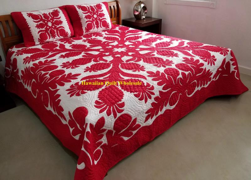 *Breadfruit-Pineapple-RE<br>2 pillow shams included<br><font color=red>Superior Materials</font>
