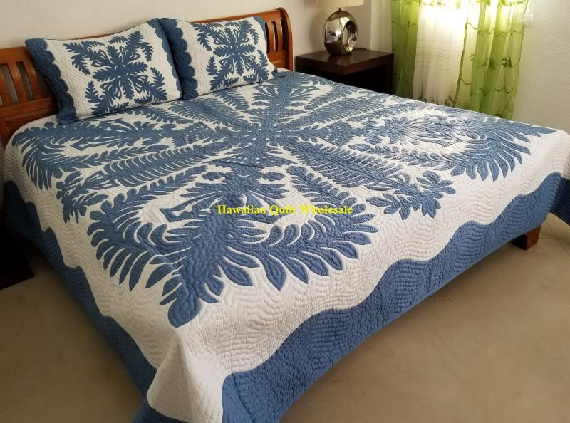 *Crown and Kahili CB<br> 2 pillow shams included