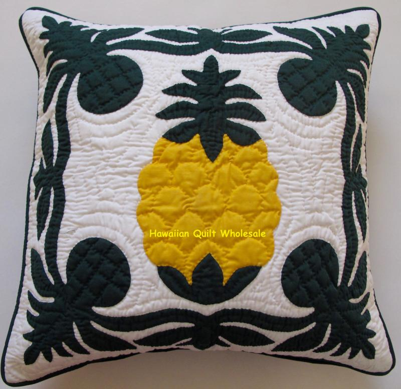 Breadfruit-Pineapple-BGY<br>2 pillow covers