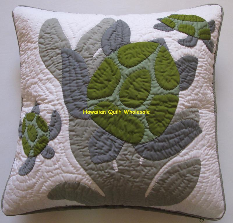 Sea Turtles-BGOG<br>(mother & baby honu)<br>2 pillow covers
