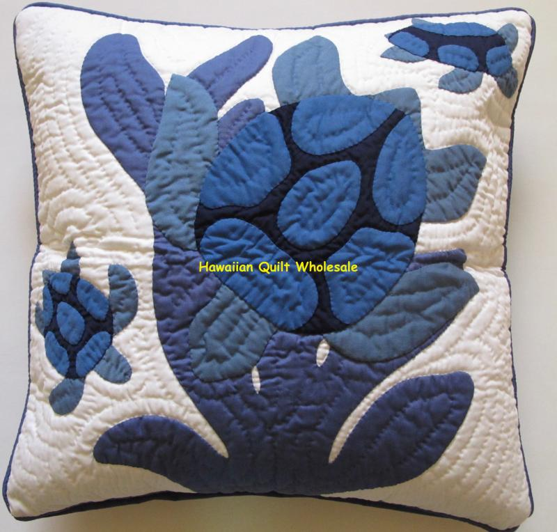 Sea Turtles-B<br>(mother & baby honu)<br>2 pillow covers