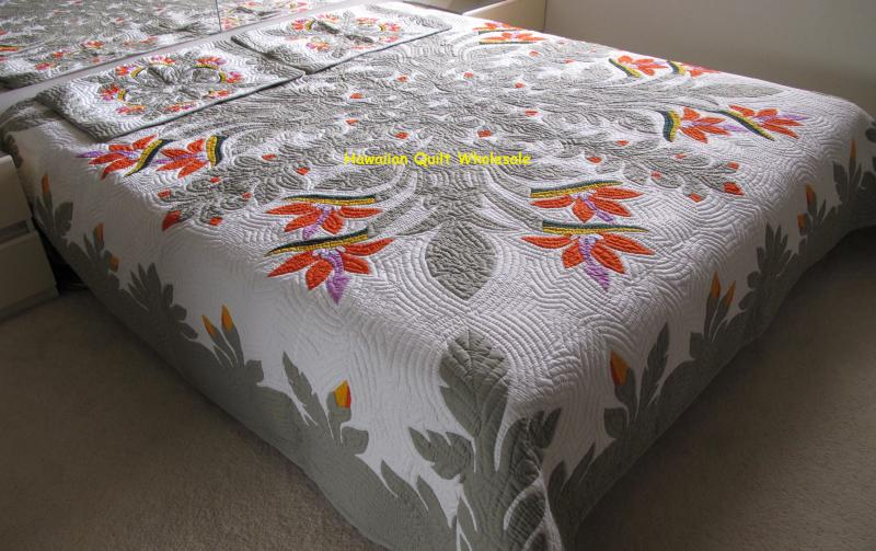 Birds of Paradise-CGM<br>2 pillow shams included<br><font color=red>Superior Materials</font>