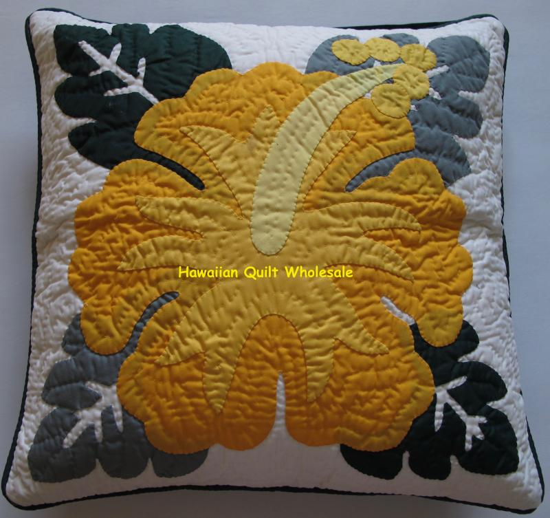 Hibiscus-BGYE <br>2 pillow covers