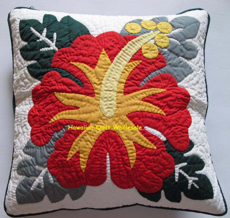 Hibiscus-RYE<br>2 pillow covers
