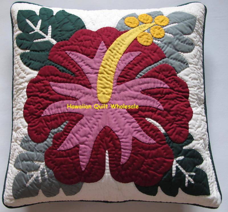 Hibiscus-BGMA<br>2 pillow covers