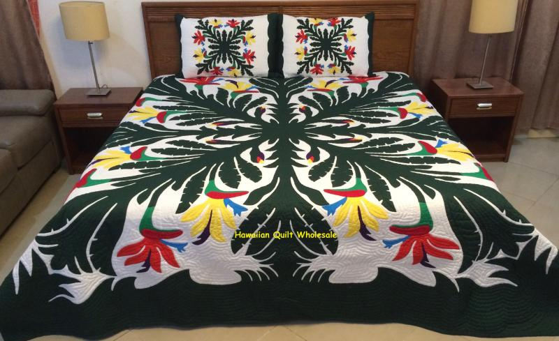 Birds of Paradise-BGM<br>2 pillow Shams included<font color=red><br>Superior Materials</font>