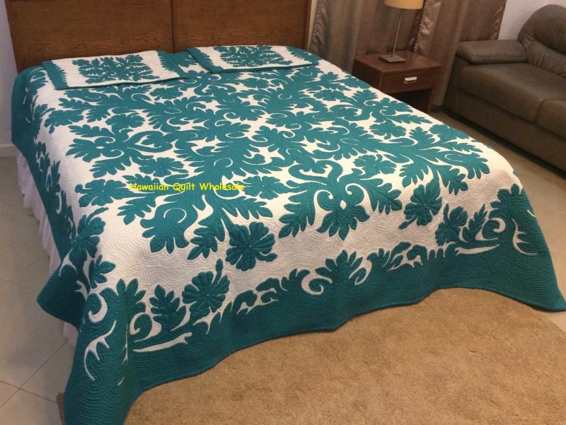 Hibiscus-AG* <br> 2 pillow shams included<br><font color=red>Super Fine Materials</font>