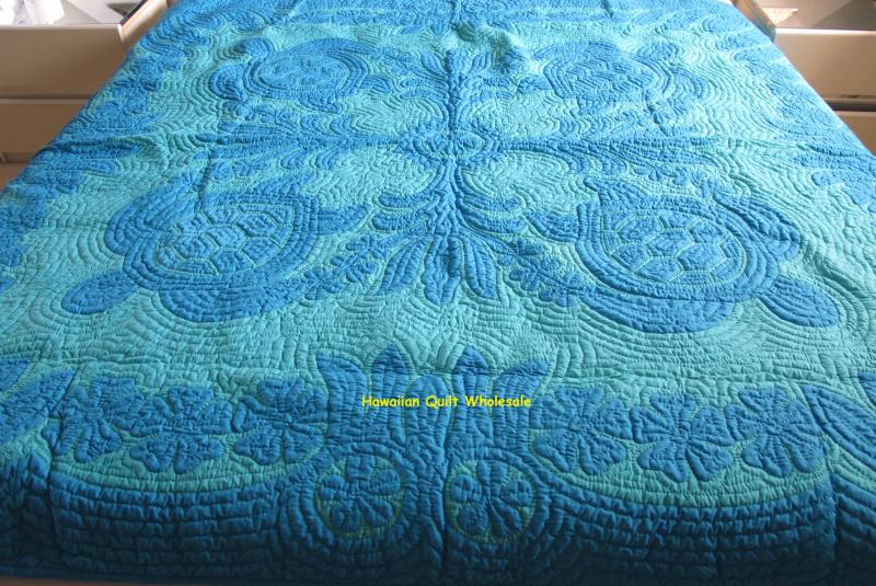 Sea Turtles-Ilima-Plumeria-ABAG<br> 2 pillow shams included