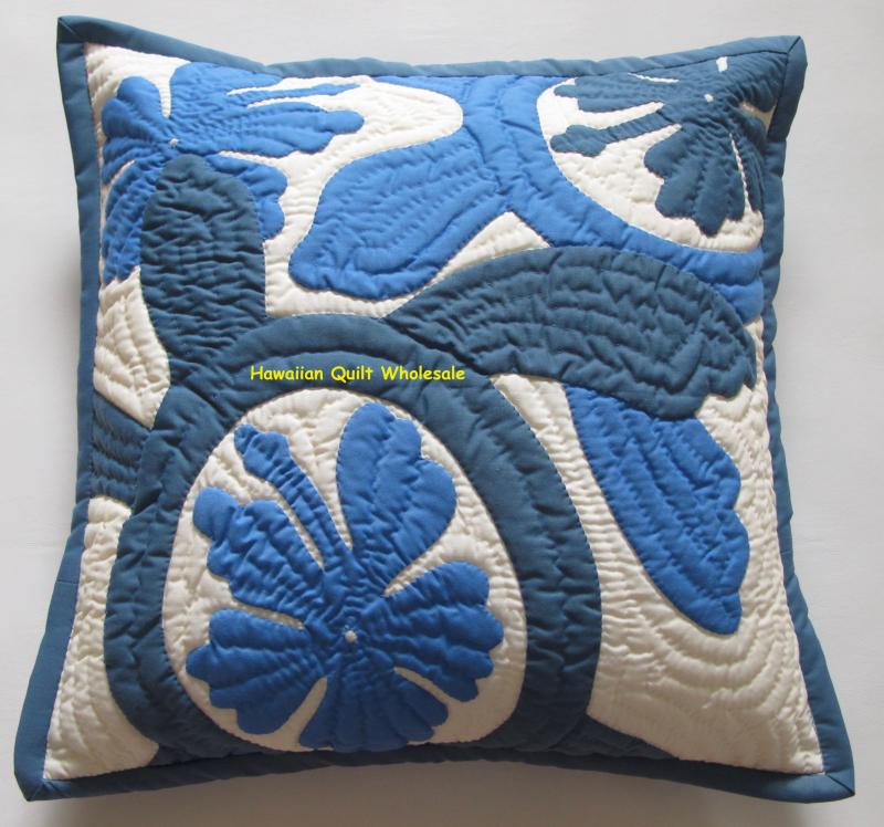 Sea Turtles-Hibiscus-CBWB16<br>2  pillow covers