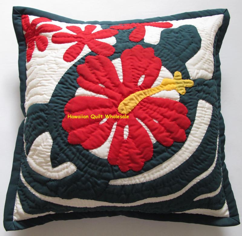 Hibiscus-Sea Turtle-BGRE16<br>2  pillow covers