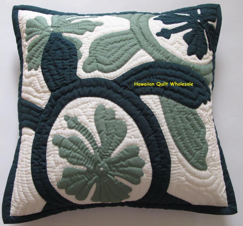 Hibiscus- Sea Turtles-BGCG16<br>2  pillow covers