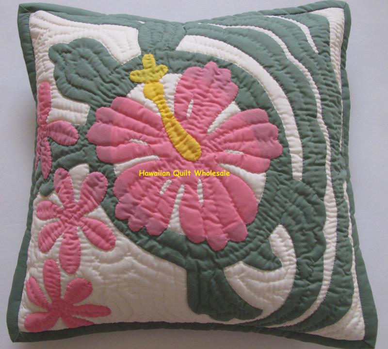 Hibiscus-Sea Turtle-CGP16<br>2  pillow covers