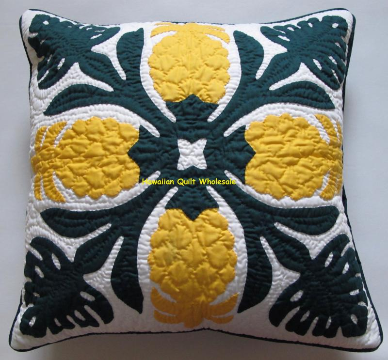 Pineapple-Monstera-BGYE<br>2 pillow covers
