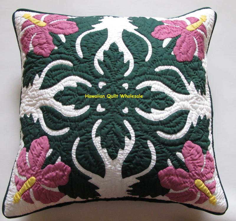 Hibiscus-BGDR<br>2 pillow covers