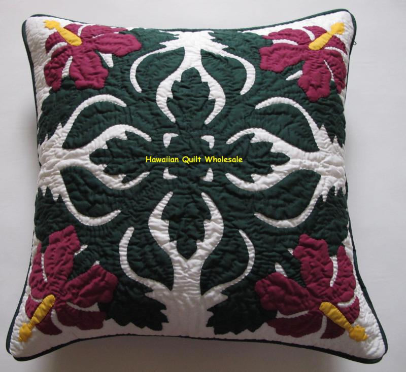 Hibiscus-BGM<br>2 pillow covers