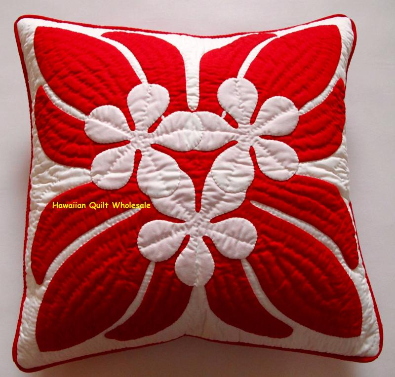 Plumeria #3-RE<br>2 pillow covers
