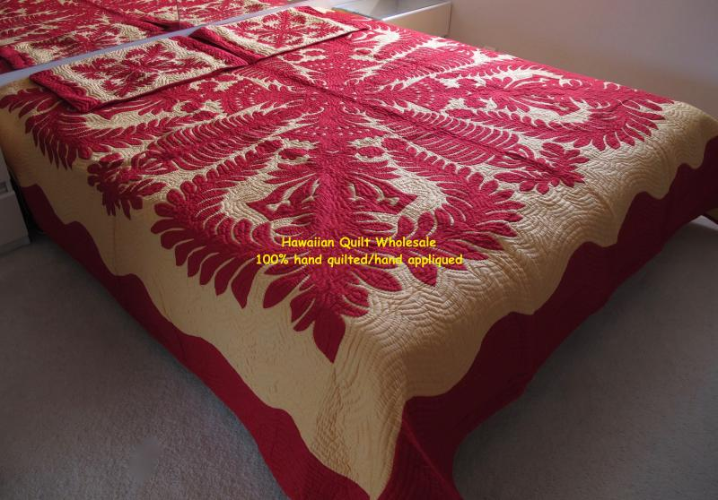 Crown and Kahili-REYE<br>2 pillow shams included<br><font color=red>Super Fine Materials</font>
