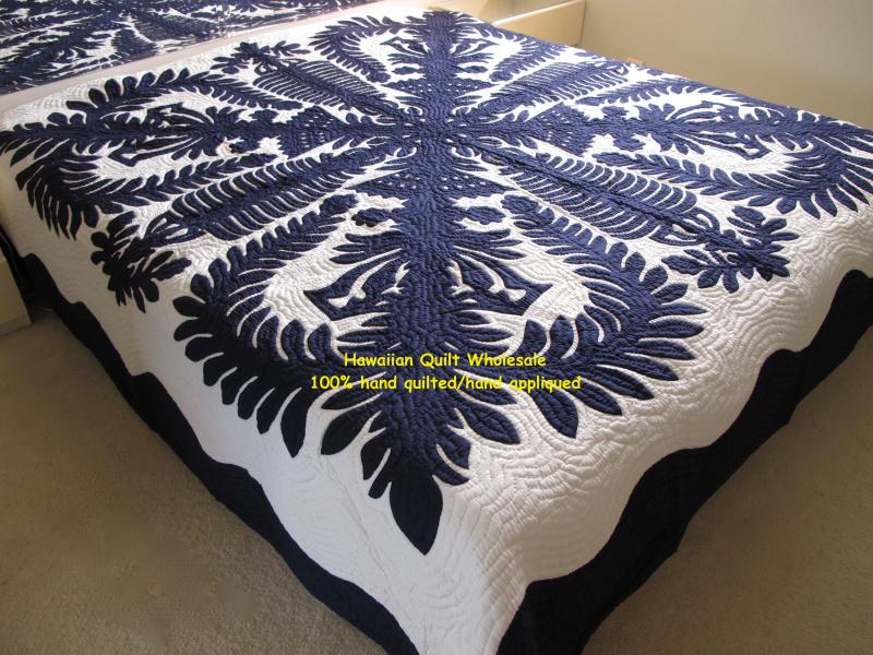 Crown and Kahili-DNB*<br>2 pillow Shams included<font color=red><br>Super Fine Materials</font>
