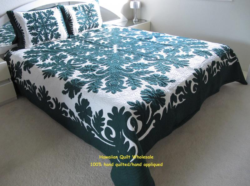 HIbiscus-BG<br> 2 pillow shams included<br><font color=red>Superior Materials</font>